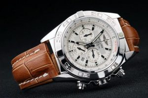 Breitling-Chronomat-White-Surface-Leather-Strap-Watch-BC2284-88_1
